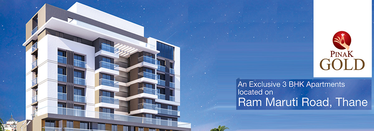 Pinak Gold - Exclusive 3 BHK Flats near Thane Staion